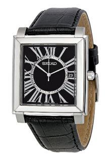 Đồng hồ kim nam dây da Seiko SGEE15P1