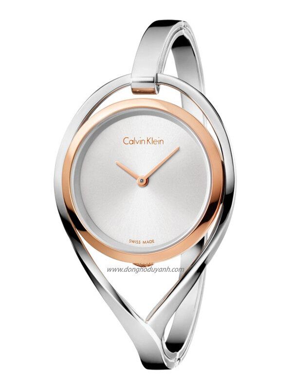 Đồng hồ kim nữ Calvin Klein dây lắc K6L2SB16