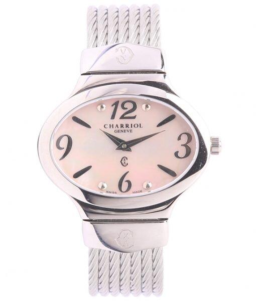 Đồng hồ kim nữ Charriol OVAL541A0V001
