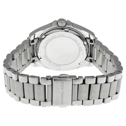 Đồng hồ Michael Kors Mini-size Blair Multi-function Glitz Watch, Silver-color Mk5612