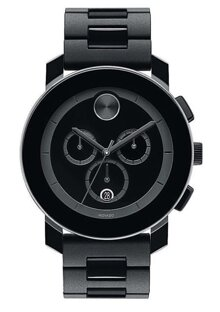 Đồng hồ Movado Bold Large All Black Men's Watch 3600048, 44mm