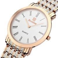 Đồng hồ nam Cao Cấp Bestdon BD9924G mặt Sapphire viền vàng