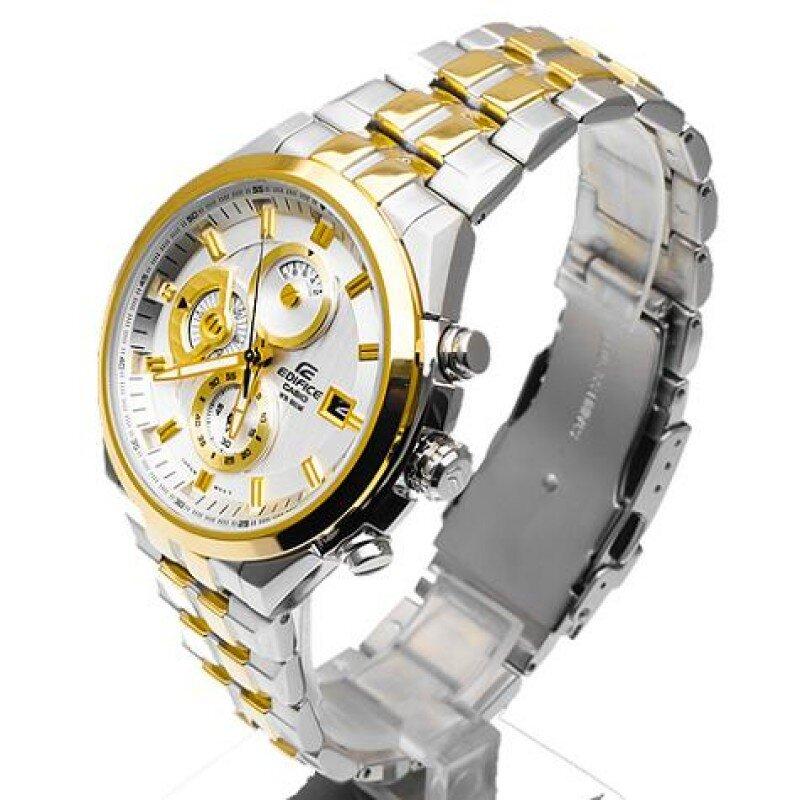 Đồng hồ nam Casio cao cấp chính hãng Gold Deluxe