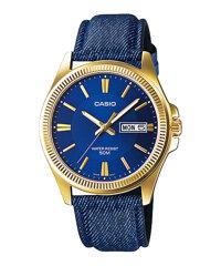 Đồng hồ nam dây da Casio Quartz MTP-E111GBL-2AVDF