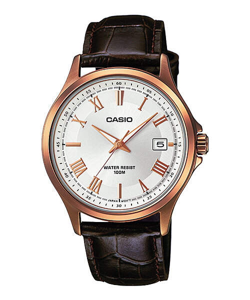 Đồng hồ nam dây da Casio Quartz MTP-1383RL - màu 7AVDF/ 5AVDF