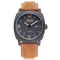 Đồng hồ nam dây da Curren CR006