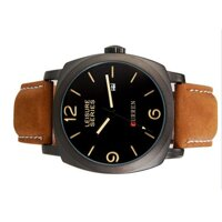 Đồng hồ nam dây da Curren CR03
