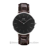 Đồng hồ nam dây da Daniel Wellington - DW00100134