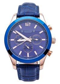 Đồng hồ nam Dây Da Julius JAH-092