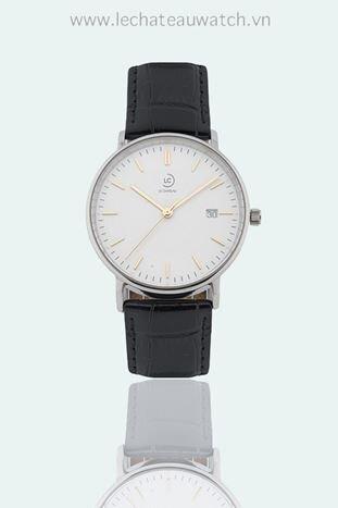 Đồng hồ nam dây da Le Chateau Quartz L40.192.01.6.2