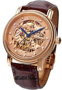 Đồng hồ nam dây da Ogival OG358.33AGR-GL