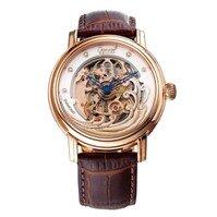 Đồng hồ nam dây da Ogival OG358.63AGR-GL