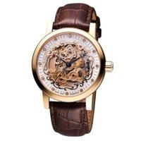 Đồng hồ nam dây da Ogival OG388.61AGR-GL