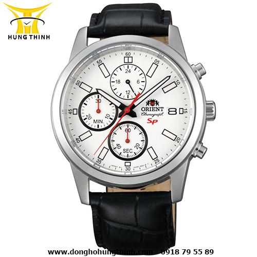 Đồng hồ nam dây da Orient FKU00006W0