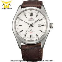 Đồng hồ nam dây da Orient FUNF3005W0