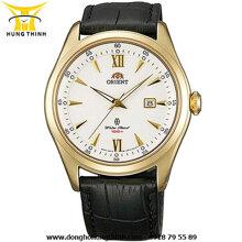 Đồng hồ nam dây da Orient FUNF3002W0