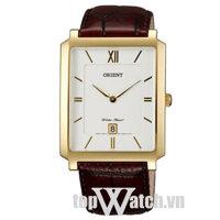 Đồng hồ nam dây da Orient FGWAA003W0