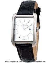 Đồng hồ nam dây da Romanson TL4228MWWH
