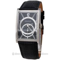 Đồng hồ nam dây da Romanson DL5146NMWBK