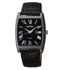 Đồng hồ nam dây da Seiko Solar SUT887P1
