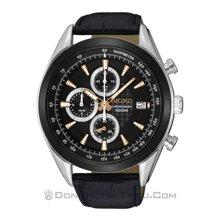Đồng hồ nam dây da Seiko SSB183P1