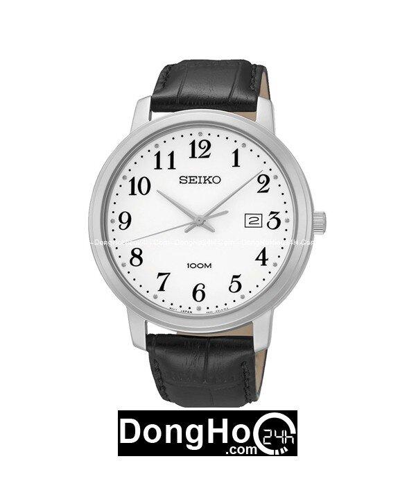 Đồng hồ nam dây da Seiko SUR113P1