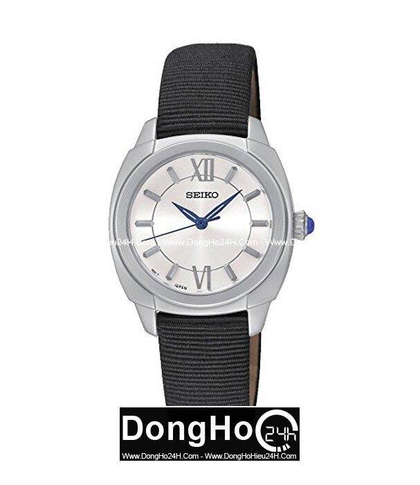 Đồng hồ nam dây da Seiko Quartz SRZ425P2