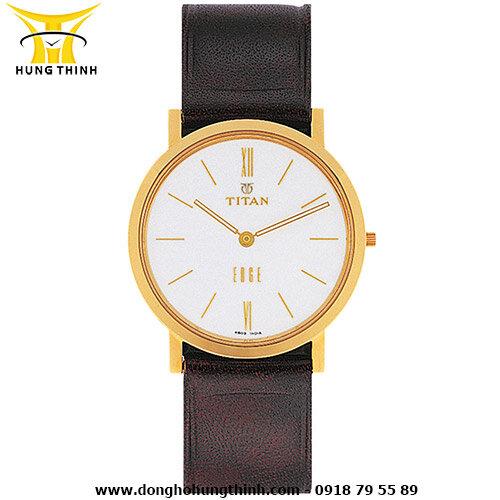 Đồng hồ nam dây da siêu mỏng Titan 679YL01