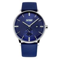 Đồng hồ nam dây da SK042 Skmei