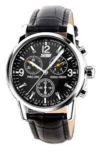 Đồng hồ nam dây da Skmei 9070