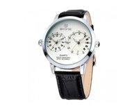 Đồng hồ nam dây da Skone 9142