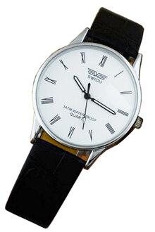 Đồng hồ nam dây da SWIDU 001