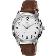Đồng hồ nam dây da Titan 1585SL07