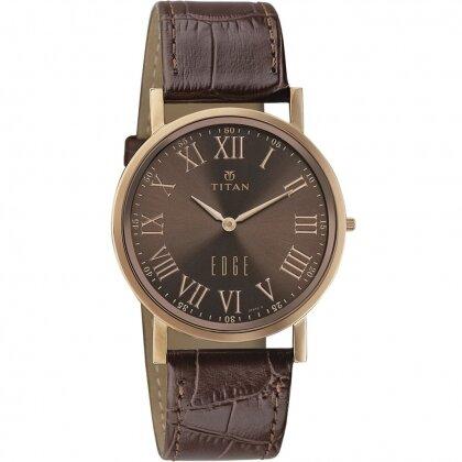 Đồng hồ nam dây da Titan 1595WL03