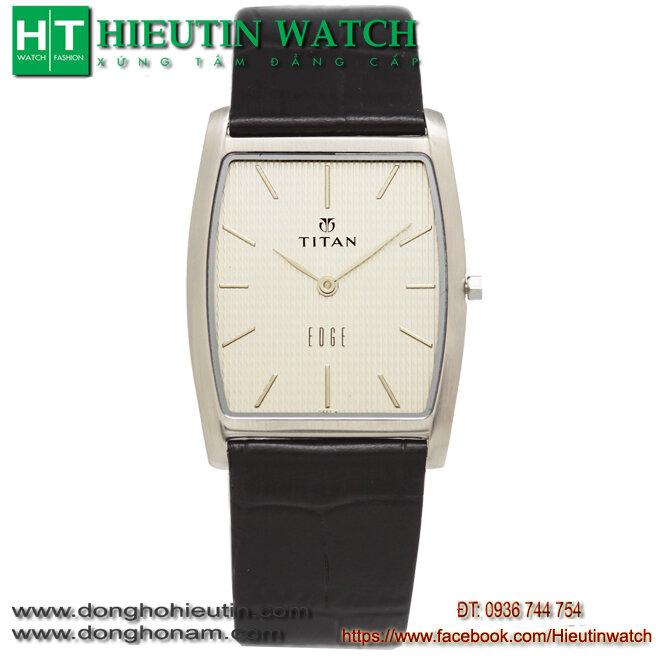 Đồng hồ nam dây da Titan 1044SL01