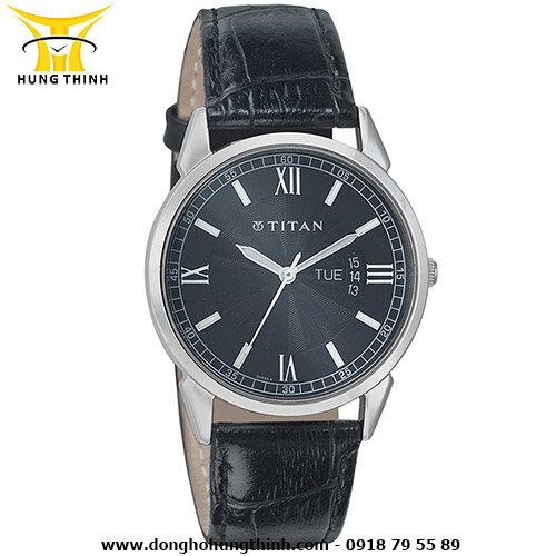 Đồng hồ nam dây da Titan 1521SL01