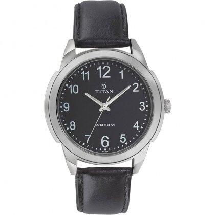 Đồng hồ nam dây da Titan 1585SL08