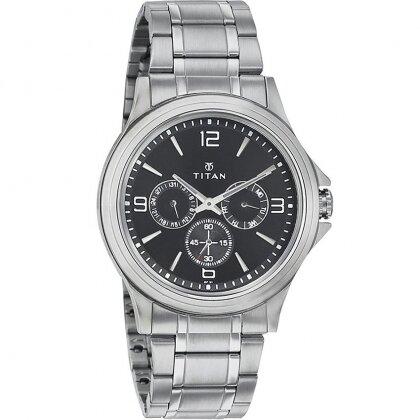 Đồng hồ nam dây da Titan 1698SM01