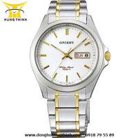 Đồng hồ nam dây kim loại 3 kim Orient FUG0Q002W6