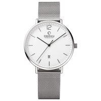 Đồng hồ nam dây kim loại Obaku V181GDCWMC
