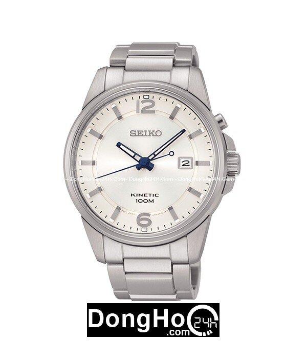 Đồng hồ nam dây kim loại Seiko Kinetic SKA663P1