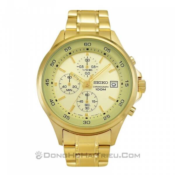 Đồng hồ nam dây kim loại Seiko SKS482P1