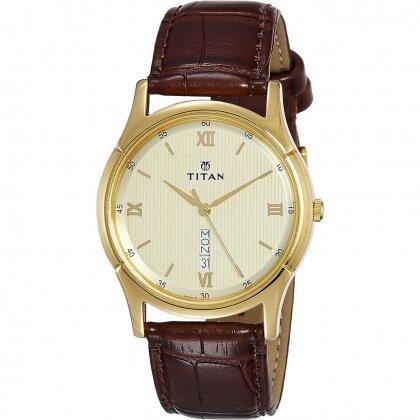 Đồng hồ nam dây kim loại Titan 1636YL03