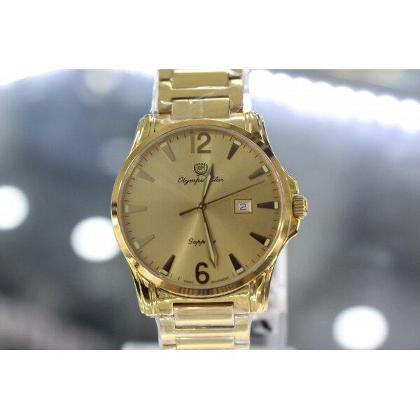 Đồng hồ nam dây kim loại Olympia Star OPA58047MS