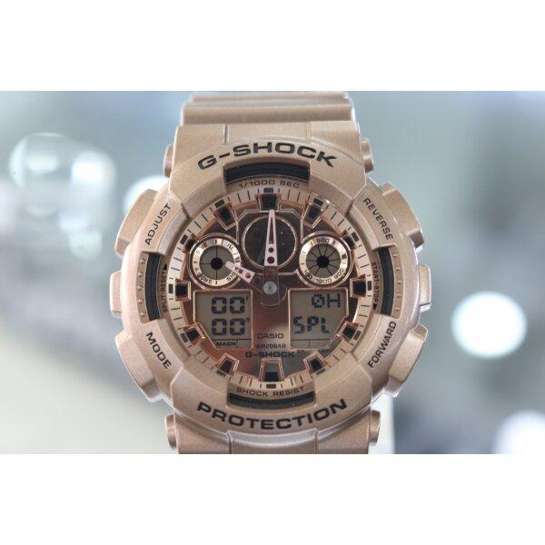 Đồng hồ nam dây kim loại Gshock GA-100GD