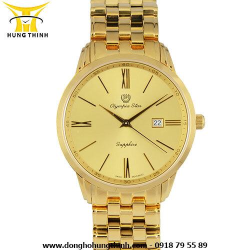 Đồng hồ nam dây kim loại Olympia Star 58061MK