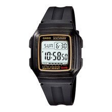 Đồng hồ nam dây nhựa Casio F201W