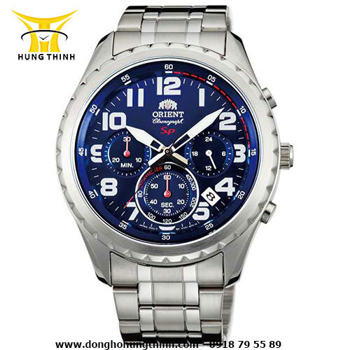 Đồng hồ nam dây thép không gỉ Orient - FKV01002D0