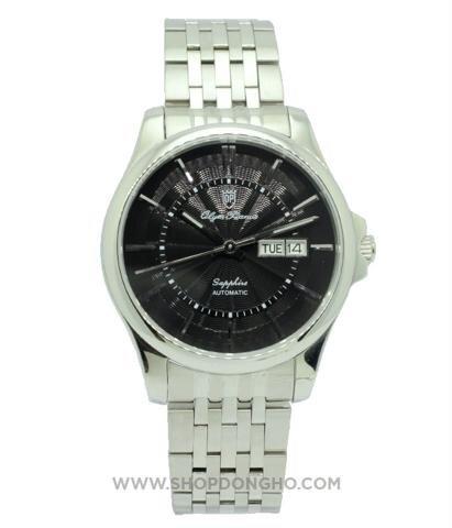 Đồng hồ nam dây thép không gỉ Olym Pianus OP990-09AMS