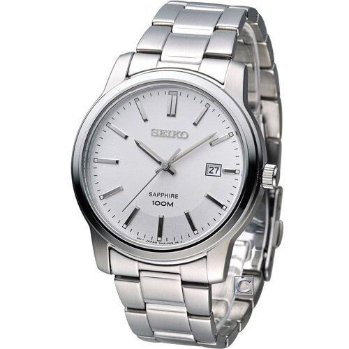 Đồng hồ nam dây thép không gỉ Seiko SGEH01P1